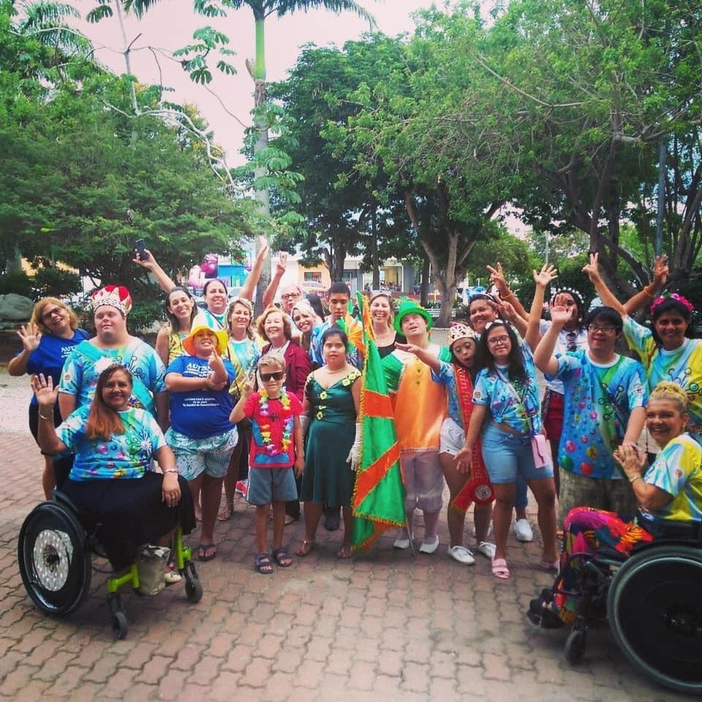Organização comemora aprovação do 'Carnaval Para Todos' como tema da folia em Cabo Frio, no RJ — Foto: Projeto Carnaval Para Todos/Divulgação