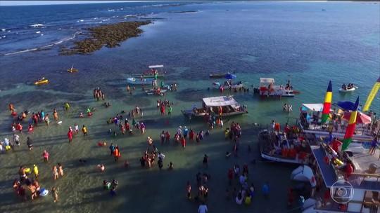 São José da Coroa Grande (PE) tem mar, rio e piscinas naturais