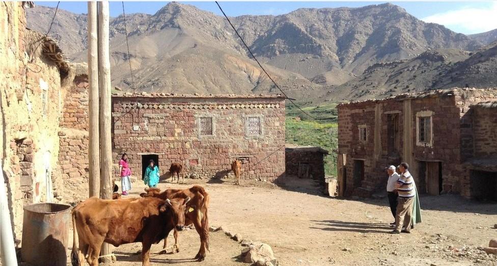 Redescobrindo a remota aldeia marroquina que tinha desaparecido do mapa