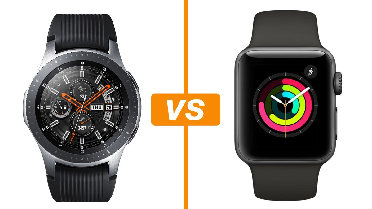 603c21ea12b Galaxy Watch vs Apple Watch 3  conheça relógios inteligentes ...