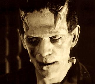 Boris Karloff, como Franskenstein