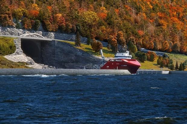 Primeiro túnel para navios do mundo será construído na Noruega (Foto: Divulgação)