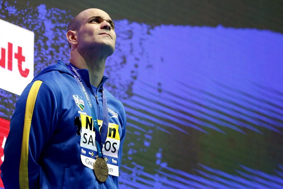 Nicholas Santos foi bronze na Coreia do Sul — Foto: Satiro Sodré/rededoesporte.gov.br