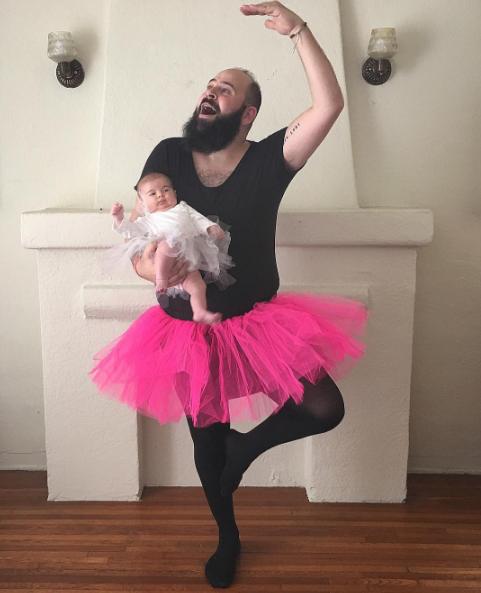 Os dois bailarinos (Foto: Reprodução / Instagram)