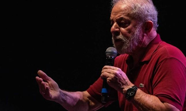 Luis Inácio Lula da Silva, que teve as condenações anuladas ontem por decisão de Edson Fachin