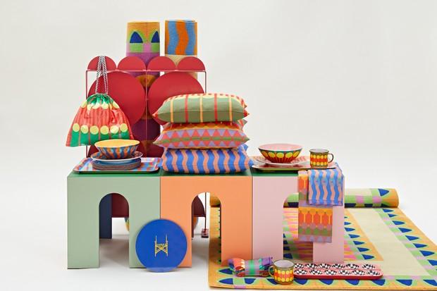Estamos apaixonados pela linha de objetos para casa de Yinka Ilori (Foto: @studiostagg)