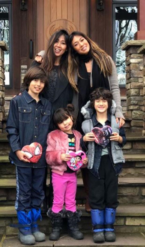 Dani Suzuki e família (Foto: Reprodução/Instagram)