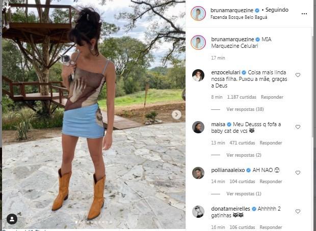 Post de Bruna Marquezine (Foto: Reprodução/Instagram)