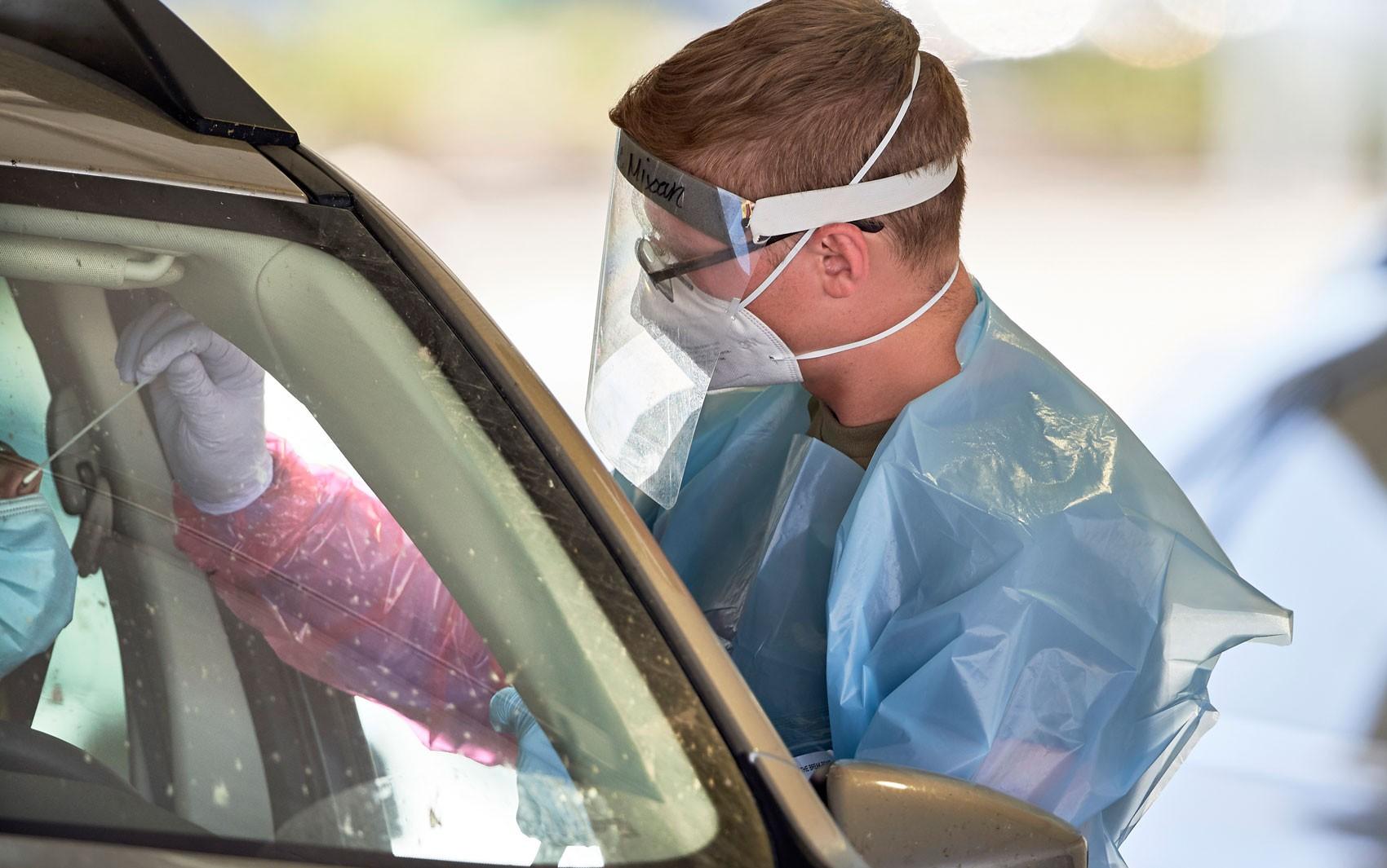 EUA registram novo recorde, com mais de 65,5 mil casos de Covid-19 em 24 horas