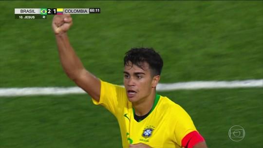 Brasil Sub-17 vence a Colômbia com gols bonitos
