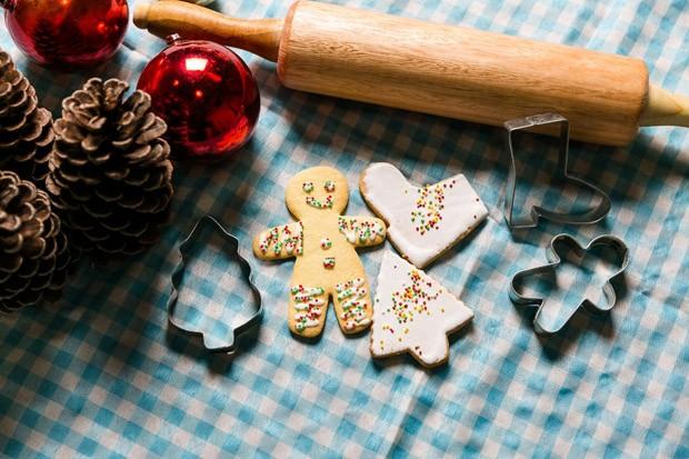 Biscoito de Natal decorado: receita perfeita para fazer com as crianças (Foto: Daniel Zimmermann/Divulgação)