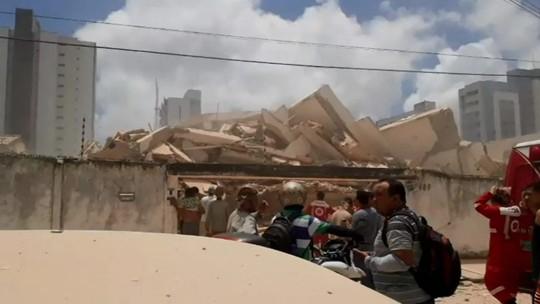Prefeitura diz que pavimentos do edifício eram irregulares
