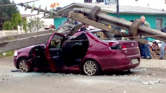 Em sete dias, três acidentes com imagens fortes terminaram em alívio