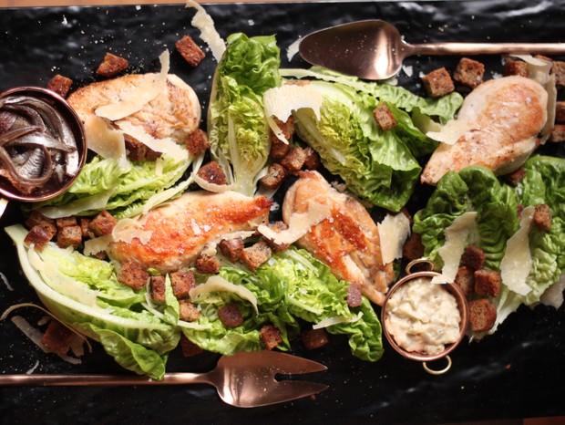 Você sabia quê... a salada Caeser nasceu no México (Foto: Larissa Januário)