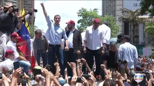 Guaidó convoca Venezuela para 'maior marcha da história' contra Maduro
