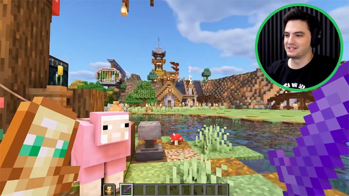 Como entrar no mundo do Felipe Neto no Minecraft  Jogos casuais