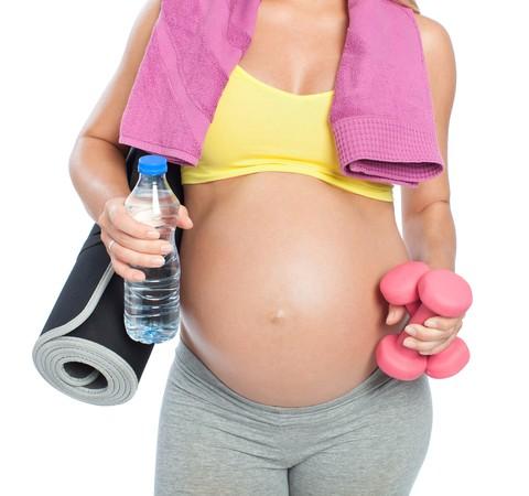 Quais exercícios são recomendados para as grávidas?