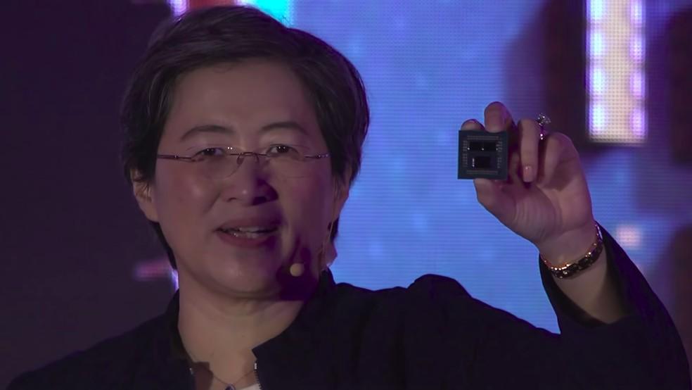 Ryzen 9 3900X foi revelado em 2019 pela AMD com 12 núcleos — Foto: Divulgação/AMD