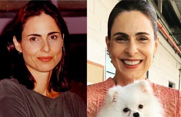 Silvia Pfeifer interpretou Paula, dona da academia onde a trama se passava. A atriz esteve recentemente em 'Topíssima', da Record (Foto: TV Globo - Reprodução/Instagram)