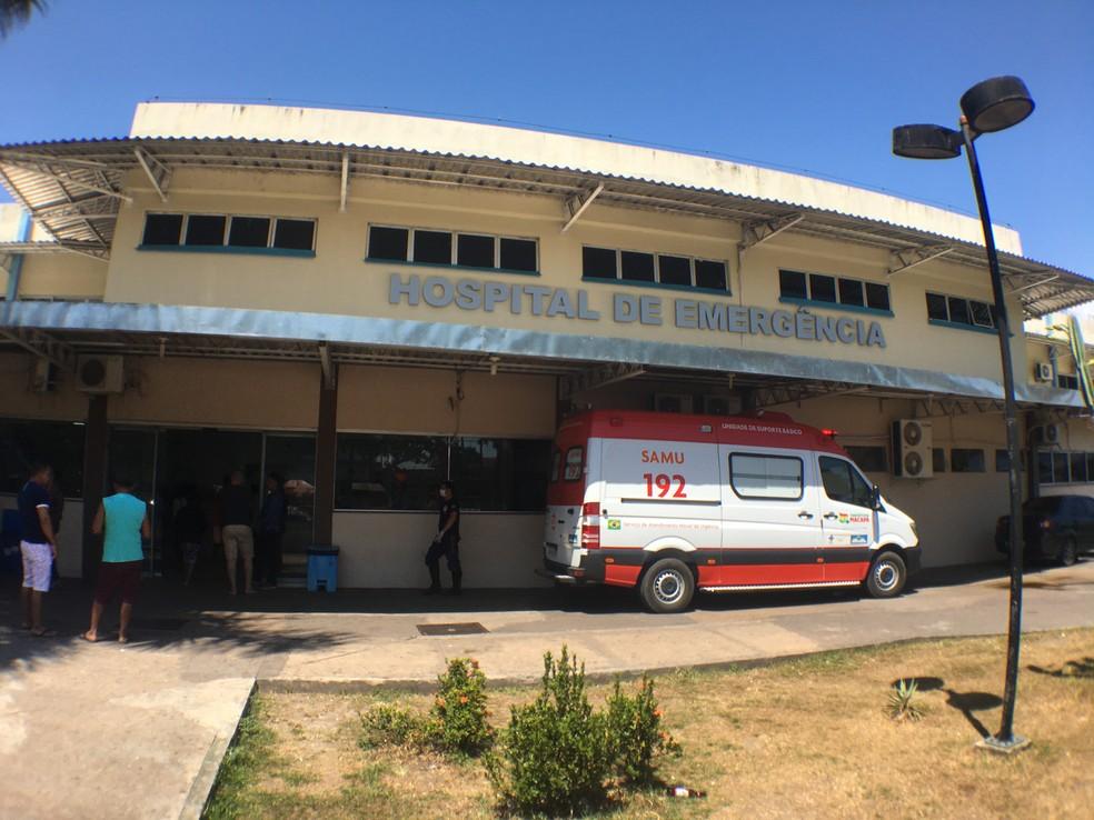 Hospital de Emergência de Macapá — Foto: Caio Coutinho/G1