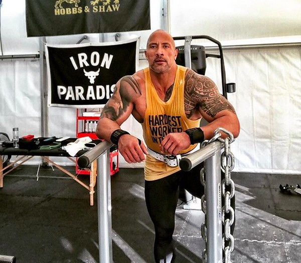 O ator Dwayne The Rock Johnson (Foto: Instagram)
