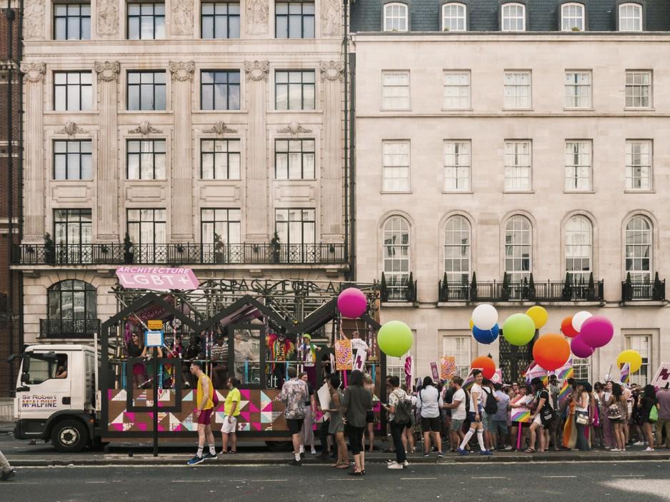 Resultado de imagem para Festival anuncia concurso de arquitetura para profissionais LGBT+ em Londres