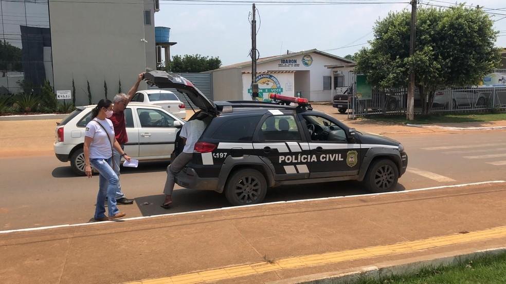 Pastor é preso após denúncia de vítimas à polícia — Foto: Jaru Online/Reprodução