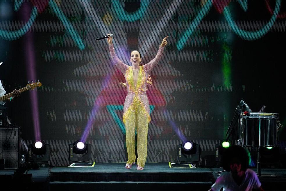 Ivete Sangalo faz show na Flórida Cup — Foto: Cahê Mota