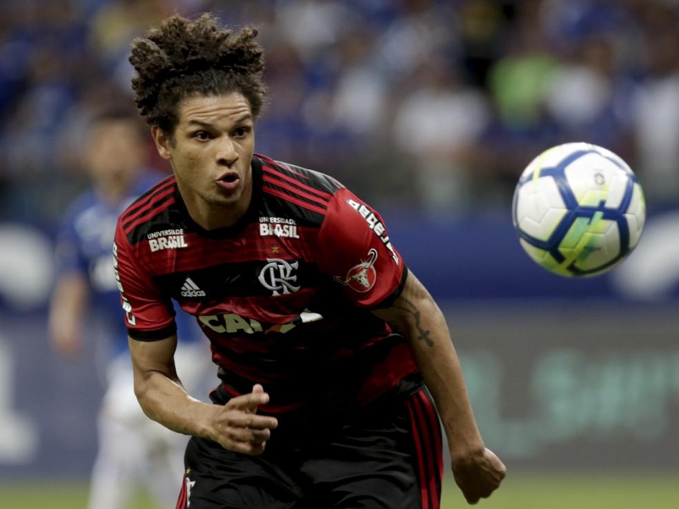 Willian Arã, do Flamengo, interessa ao São Paulo para 2019 — Foto: Staff Images/Flamengo