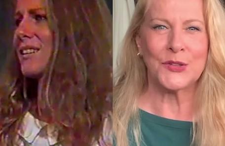 Afastada da TV desde uma participação  no 'Canta comigo especial', da Record, em 2018, Lucinha Lins foi Angela, mulher de João (José Wilker) TV Globo - Reprodução/Instagram