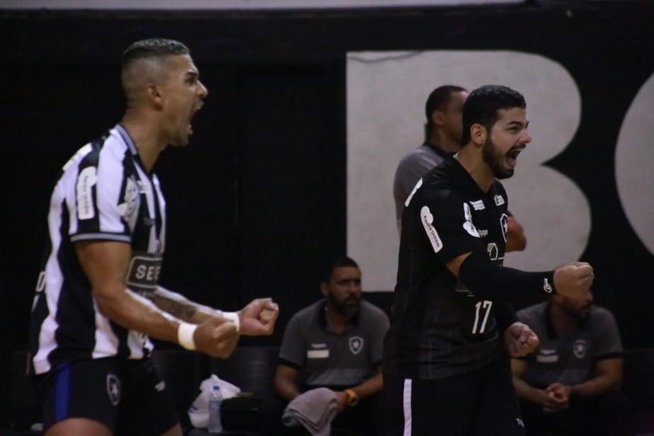 Botafogo vence APAV, vai à semifinal da Superliga B e fica perto da elite