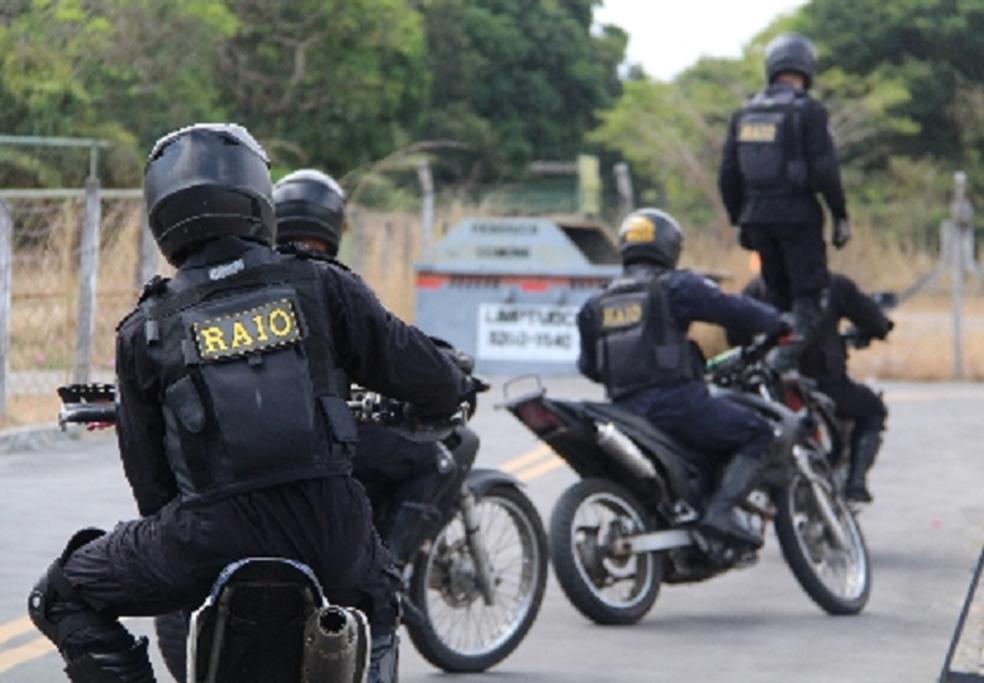 -  Governador Camilo Santana anunciou novas unidades do BPRaio em duas cidades do Ceará.  Foto: SSPDS/Divulgação