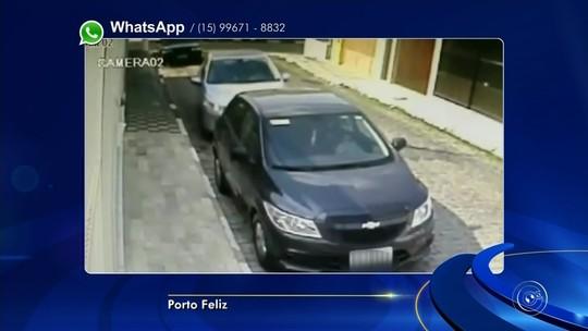 Motorista tem veículo roubado por criminosos em Porto Feliz; vídeo