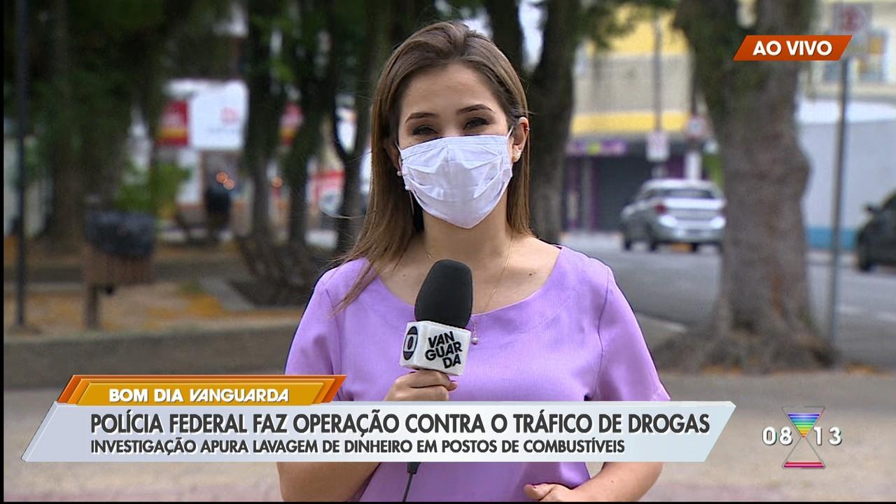 Polícia Federal faz operação contra o tráfico de drogas em Tremembé e Igaratá