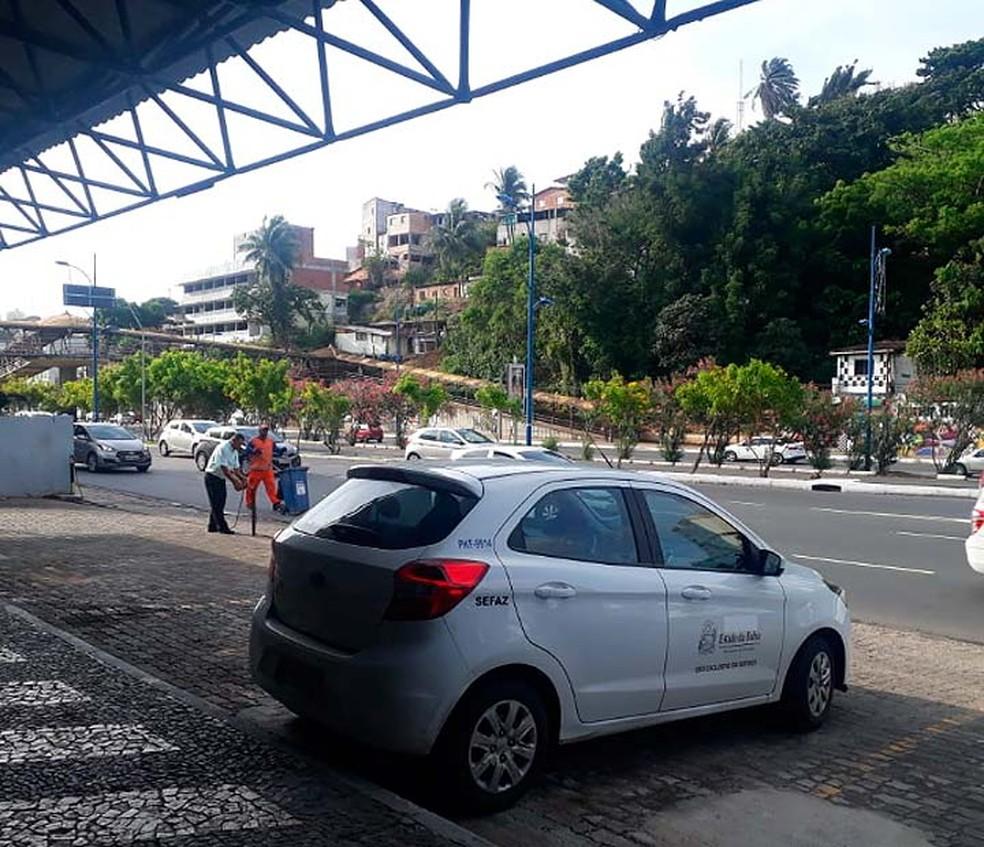 Operação Mosaico foi deflagrada nesta quinta-feira em Salvador e Camaçari — Foto: Andrea Silva/TV Bahia
