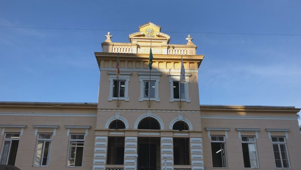 Prefeitura de Bento Gonçalves — Foto: Tainara Alba / RBS TV