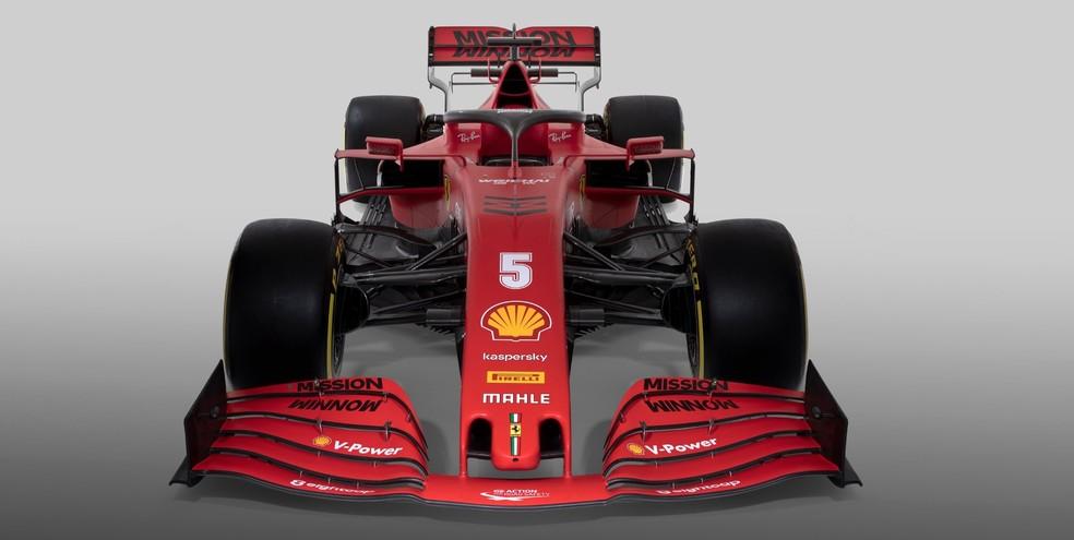 Ferrari SF1000 será pilotada por Sebastian Vettel e Charles Leclerc em 2020 — Foto: Divulgação/Ferrari
