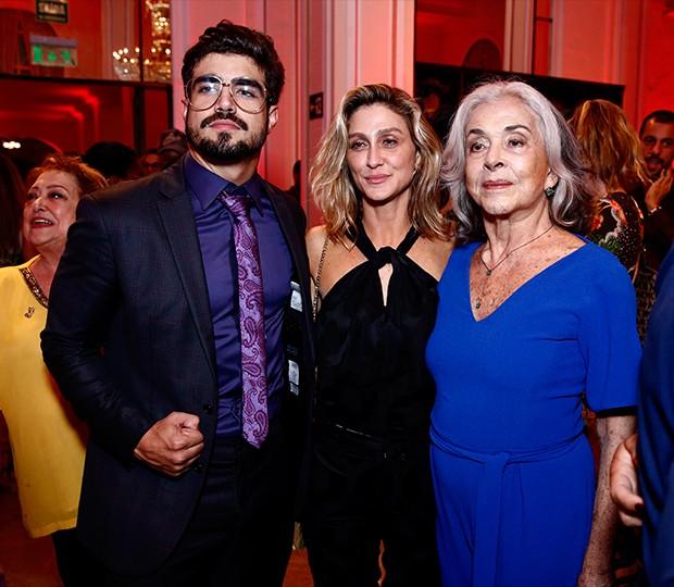 Amora Mautner, Caio Castro e Betty Faria (Foto: Roberto Filho / Brazil News)