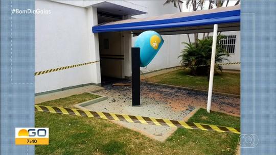 Criminosos explodem cofre de posto de combustíveis em Novo Gama
