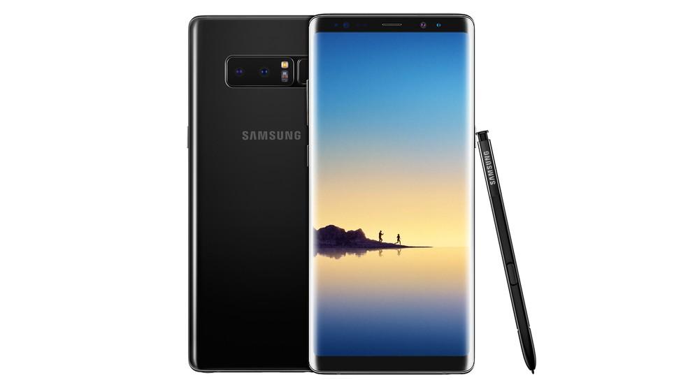 Novo smartphone da Samsung, o Galaxy Note 8, é anunciado após fiasco do Note 7 (Foto: Divulgação)