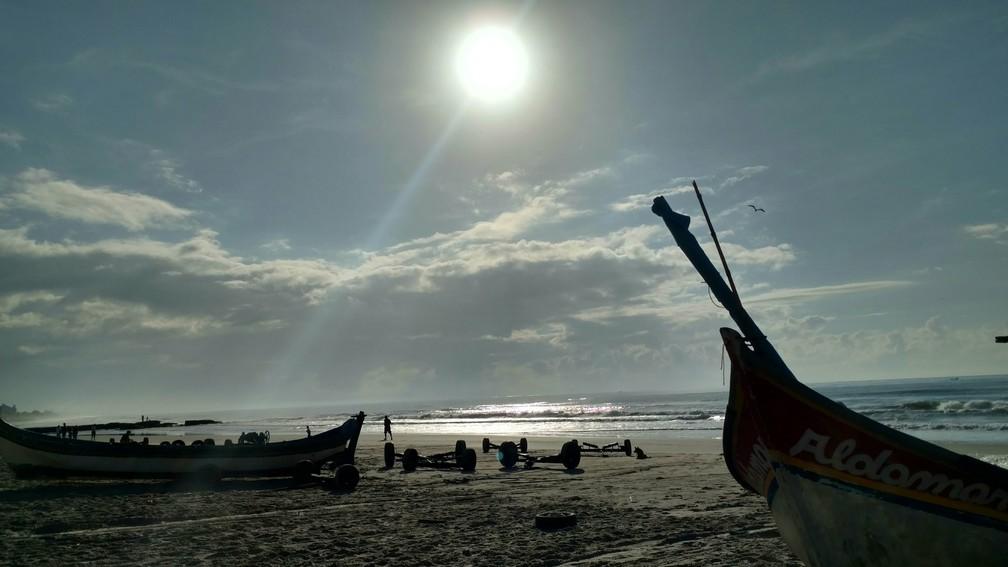 Matinhos, no litoral do Paraná, fica a aproximadamente 110 km de Curitiba (Foto: Almir Alves/Arquivo pessoal)