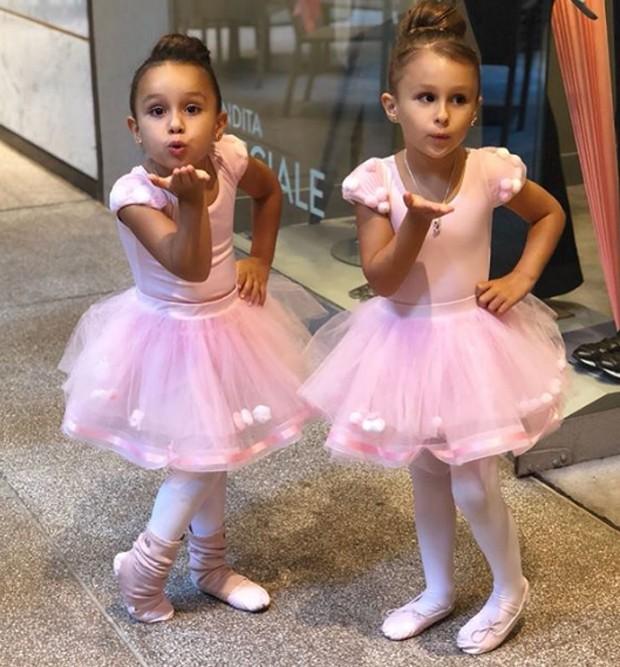 Gêmeas Maya e Kiara (Foto: Reprodução/Instagram)