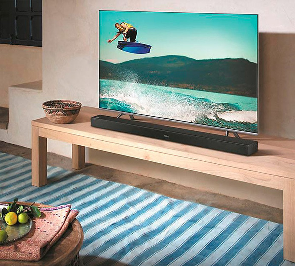 Soundbar Samsung K450 é bom? Conheça ficha técnica, potência e preço | Home ...