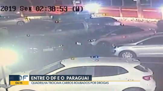 Polícia prende quadrilha que trocava carros roubados por drogas