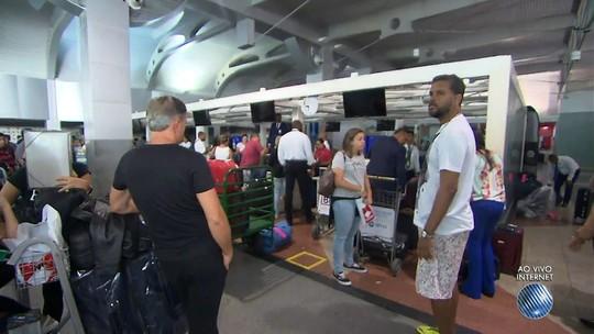 Queda de energia atrasa voos no aeroporto de Salvador