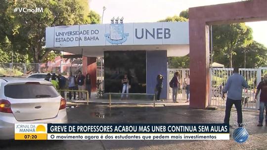 Uefs retoma aulas após 65 dias de greve na Bahia; Uneb, Uesc e Uesb têm alunos em paralisação