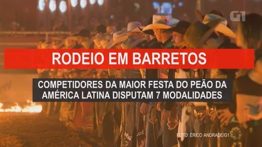 Festa do Peão de Barretos 2019: gospel de Aline Barros e 'modões' de Cezar e Paulinho agitam palco Amanhecer