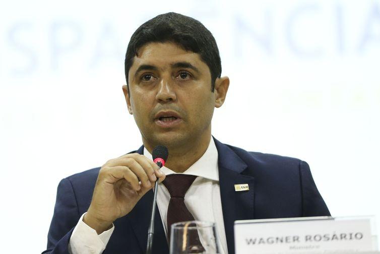 Wagner de Campos Rosário vai continuar no cargo de ministro da Transparência e Controladoria-Geral da União -  (Foto: Marcelo Camargo/Agência Brasil)