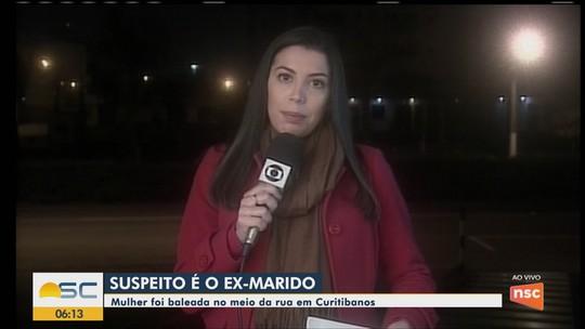 Jovem é atingida por tiros no braço e na cabeça em avenida de Curitibanos