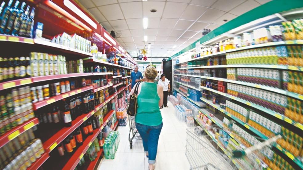 Cuidados devem ser tomados na ida ao supermercado — Foto: Foto: Arquivo / SVM